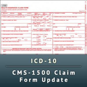 icd 10 cms 1500 claim form update