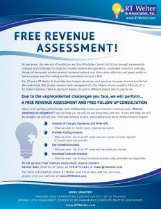 Free Revenue Assessment Available with RT Welter & Associates
